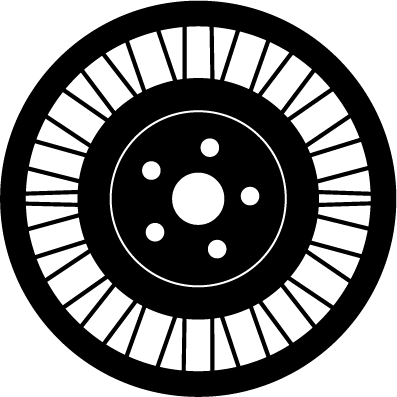 Airless Radial Tire 26x9N14 +52 mm (6+1) MSPN: 65631